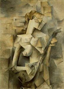 11-cubism_Picasso_Woman-Playing-Mandolin